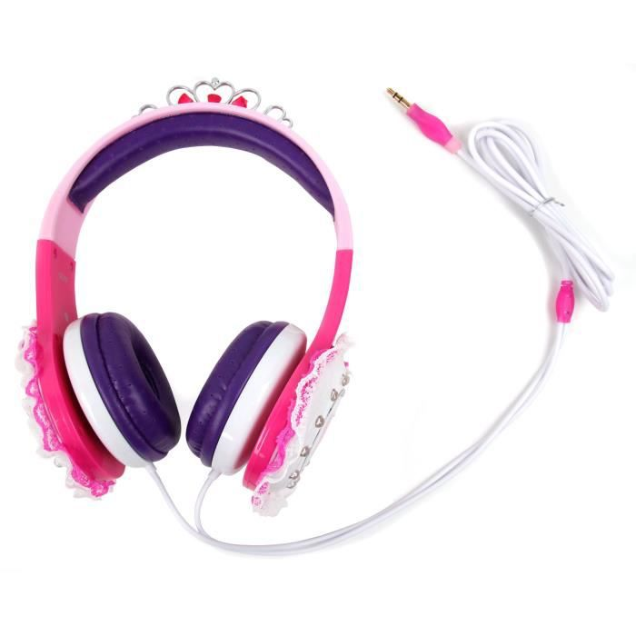 Casque Princesse Pour Audiosonic Cd-1572 Poste Sté