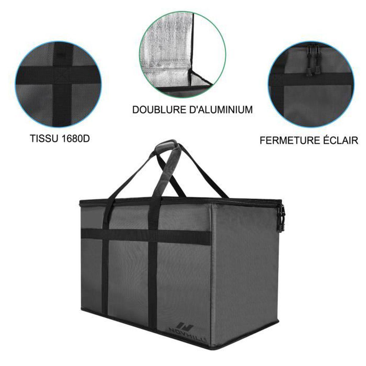 SAC ISOTHERME sac isotherme livraison premium 78 Litres pour Liv