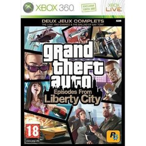 JEUX XBOX 360 GTA IV : EPISODES FROM LIBERTY CITY / JEU CONSOLE