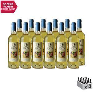 VIN BLANC Jurançon Moelleux Boléro Blanc 2017 - Domaine Cauh