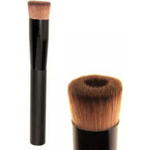 PINCEAUX DE MAQUILLAGE Noir Synthetic Coudé Flat Top Maquillage Pinceau P