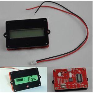 TESTEUR DE BATTERIE LCD Indicateur testeur de capacité pour 12V - 48V