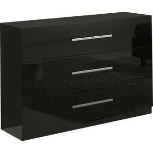commode noir laque achat vente commode noir laque pas. Black Bedroom Furniture Sets. Home Design Ideas