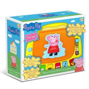 LIVRE INTERACTIF ENFANT Peppa Pig Laugh & Learn Laptop (anglais parlant)