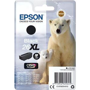 CARTOUCHE IMPRIMANTE EPSON Cartouche T2621 - Ours polaire - Noir XL