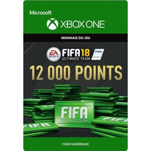 EXTENSION - CODE FIFA 18 Ultimate Team: 12000 Points pour Xbox One