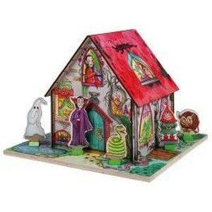 PUZZLE 3-D Puzzle, My House Horreur…
