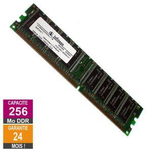 MÉMOIRE RAM Barrette Mémoire 256Mo RAM DDR Infineon HYS64D3200