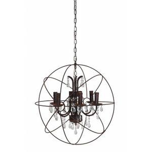 DEL Plafonnier Salon Chambre cristal décor éclairage Verre Lampe Blanc
