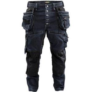 Taille 40 LMA 1258 SECHOIR Pantalon Gris//Noir//Jaune
