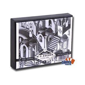 CARTES DE JEU Escher Up & Down - 2 jeux de 52 cartes