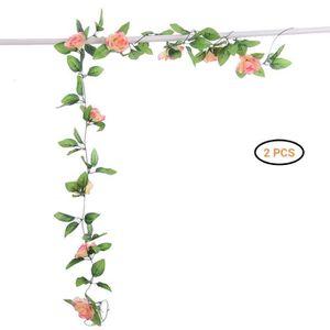 82/Pieds Verdure Faux artificielles /à Suspendre Vigne Plantes Feuille Guirlande pour F/ête de Mariage Jardin ext/érieur D/écoration Murale Meiliy 12/Pcs