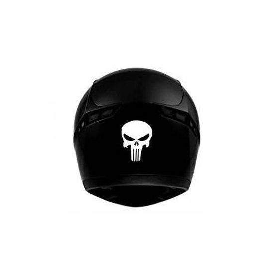 punisher tête de mort pour casque 6851 autocollant adhésif sticker