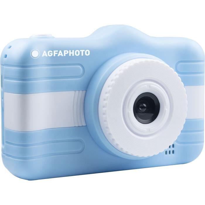 AGFA PHOTO - Appareil Photo Numérique Compact Enfant - Realikids Cam 3.5'' - Bleu