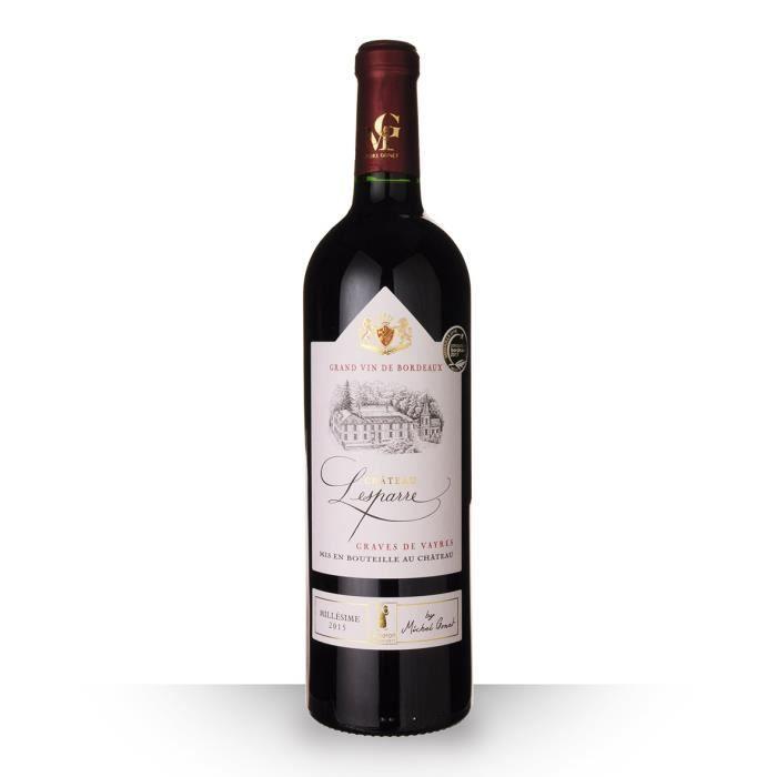 Château Lesparres 2015 AOC Graves de Vayres - 75cl - Vin Rouge