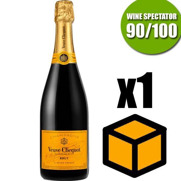 Champagne Veuve Clicquot Carte Jaune 75cl