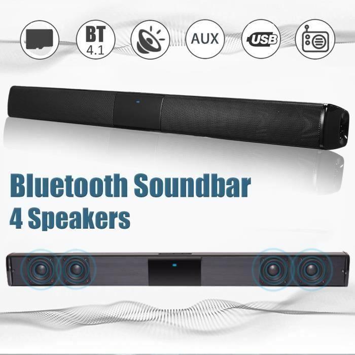 Haut-parleur Enceinte 20W Sans Fil Bluetooth Stéréo Hi-Fi Subwoofer FM TF AUX USB SA68722