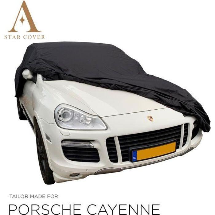 PORSCHE CAYENNE (958) BÂCHE DE PROTECTION EXTÉRIEUR NOIR NOUVEAUX HOUSSE DE VOITURE
