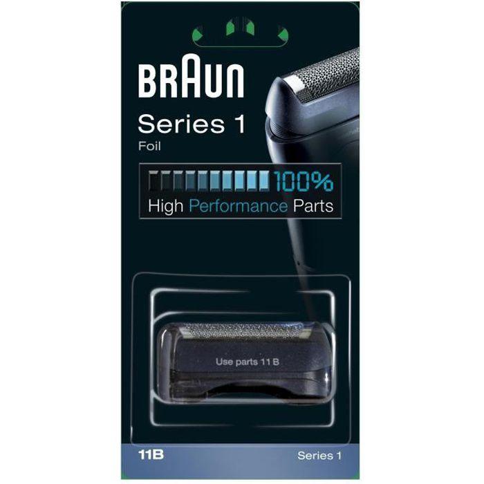 Braun 11B Noire Pièce De Rechange compatible avec les rasoirs Series 1