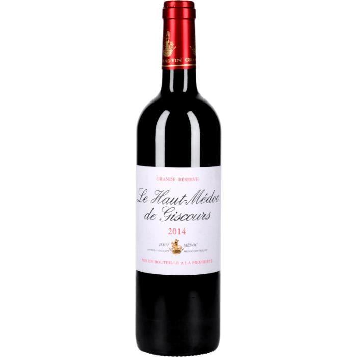 Vin Rouge - Le Haut-Médoc de Giscours 2014 - Bouteille 75cl