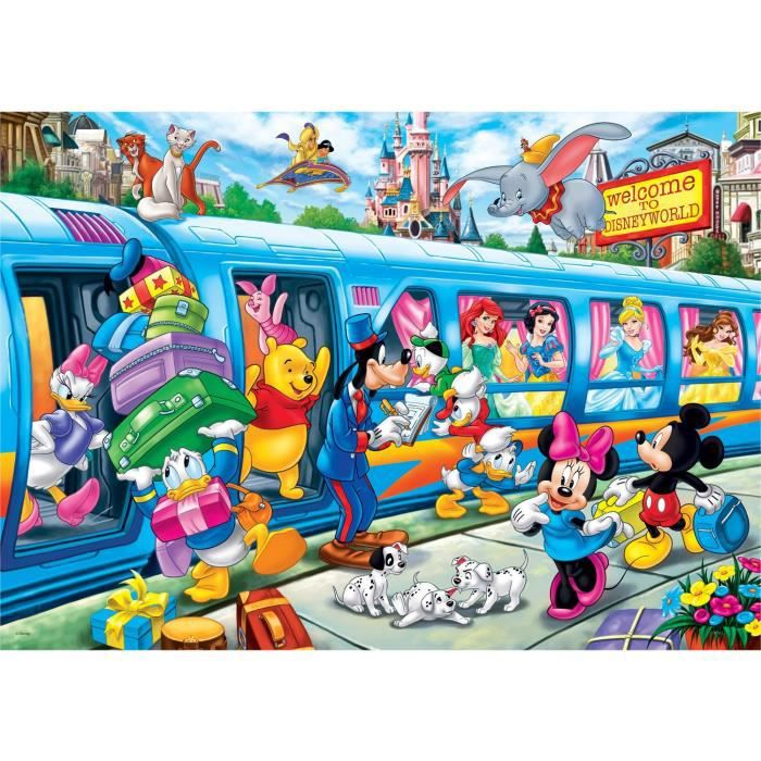 DISNEY Puzzle super color maxi 24 pièces