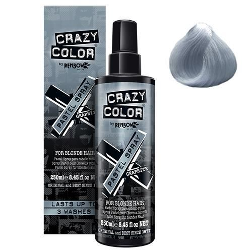 Spray ré-activant Graphite Pastel, Crazy Color 250ml
