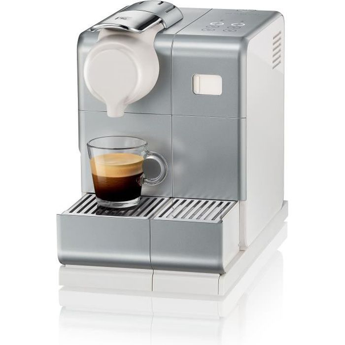 DELONGHI EN560.S NESPRESSO LATTISSIMA ONE + panneau de commande sensitif lattissima TOUCH ANIMATION - Machine expresso - Silver