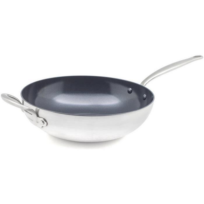 Greenpan - poêle wok inox 30cm - cc001520-001