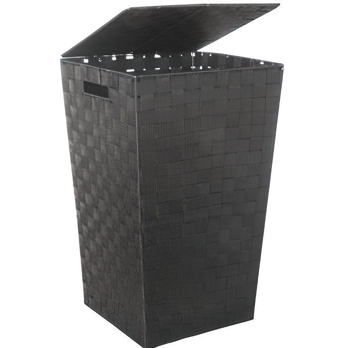 Panier à Linge 53cm Noir