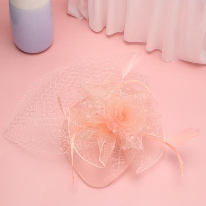 Coiffe de plumes Creative Performance Cheveux Accessoires Party Net Hat Photo Prop BANDEAU - SERRE-TETE - HEADBAND - HAIRBAND