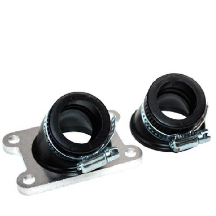 Pipe d admission souple 24mm 30° et 45° Replay moto Peugeot 50 XPS PHBG PHVA
