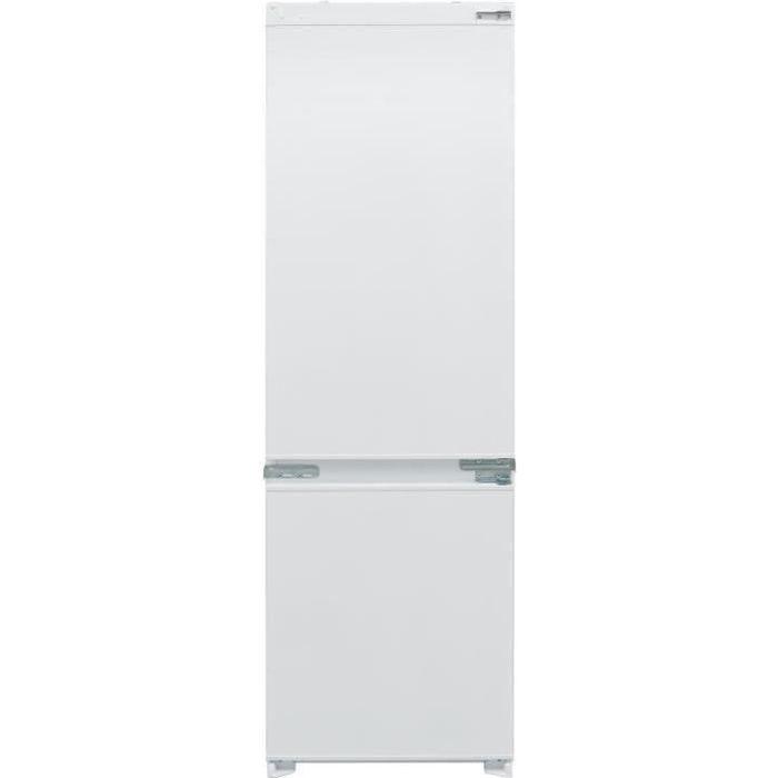 TELEFUNKEN ITCNF243F - Réfrigérateur congélateur bas encastrable - 243L (180+63) - Froid No Frost - L 54cm x H 177cm