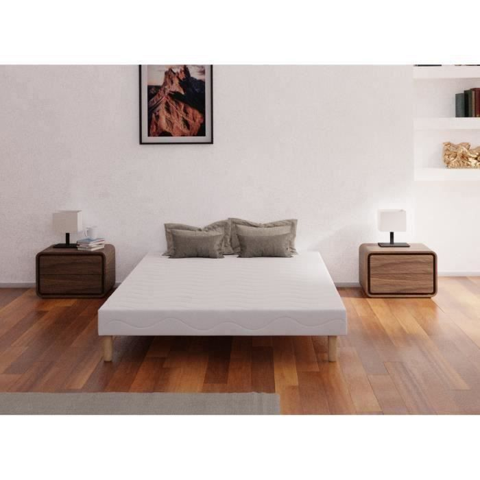 sommier tapissier 140x190 pieds offert achat vente. Black Bedroom Furniture Sets. Home Design Ideas