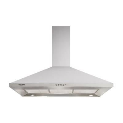 electromenager four cuisson hotte decorative murale pyramide  cm glem ghp f gle