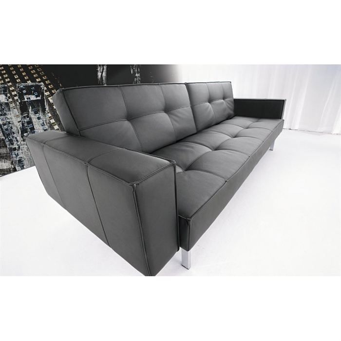 canap lit design oz achat vente canap sofa divan cdiscount. Black Bedroom Furniture Sets. Home Design Ideas