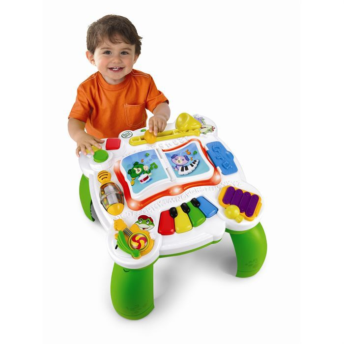 Leapfrog table d 39 eveil musical bilingue achat vente table jouet d 39 activit cdiscount - Table d activite leapfrog ...