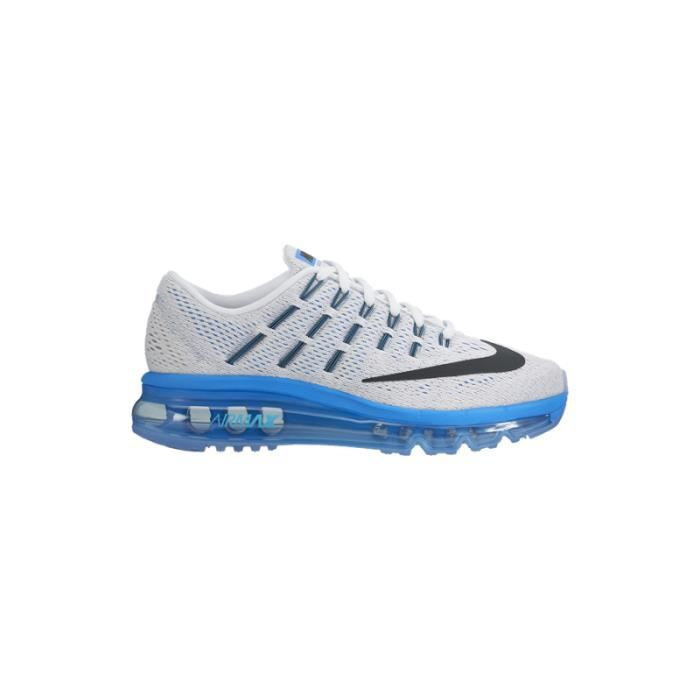 nike air max 2016 gs blanc achat vente basket les soldes sur cdiscount cdiscount. Black Bedroom Furniture Sets. Home Design Ideas