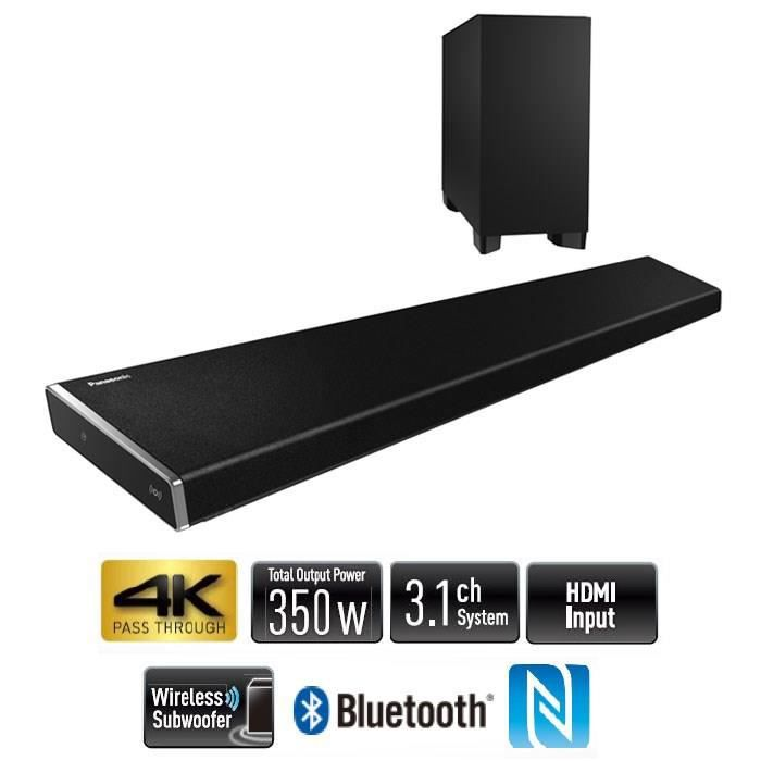 panasonic all70t barre de son multiroom bluetooth nfc 350w rms barre de son avis. Black Bedroom Furniture Sets. Home Design Ideas
