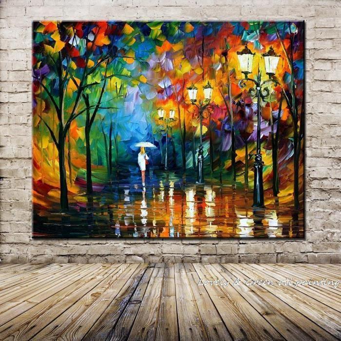 Tableau toile peinture à l'huile - Achat