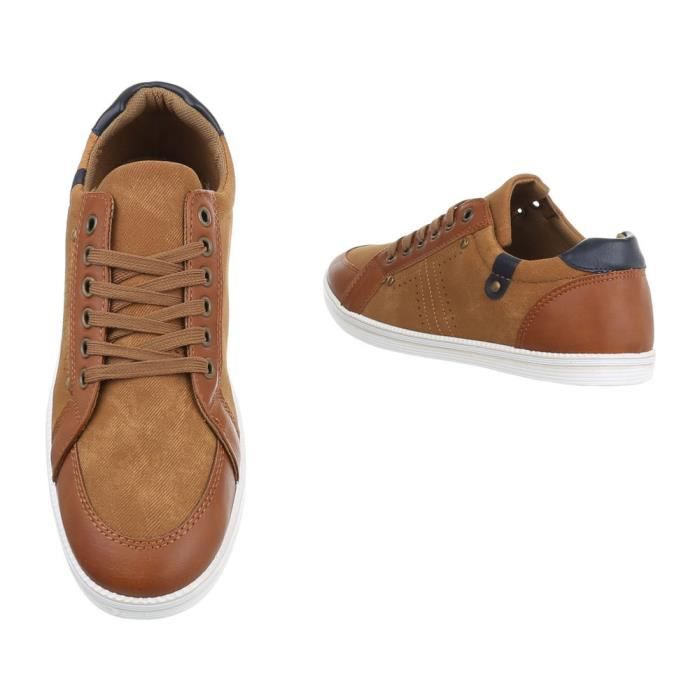 Chaussures automne bleues Sportives unisexe
