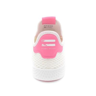 1 Tennis Pharrell Williams 37 Adidas Basket T rose Blanc By8714 3 awFdzx