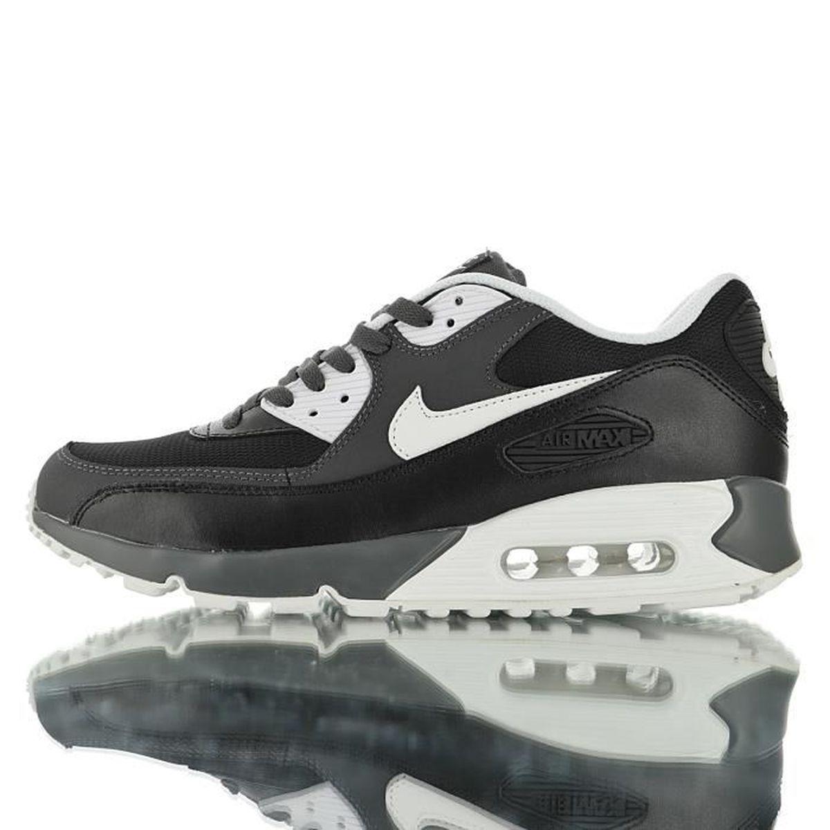 Baskets Nike Air Max 90 Homme Noir Noir Noir - Cdiscount Chaussures