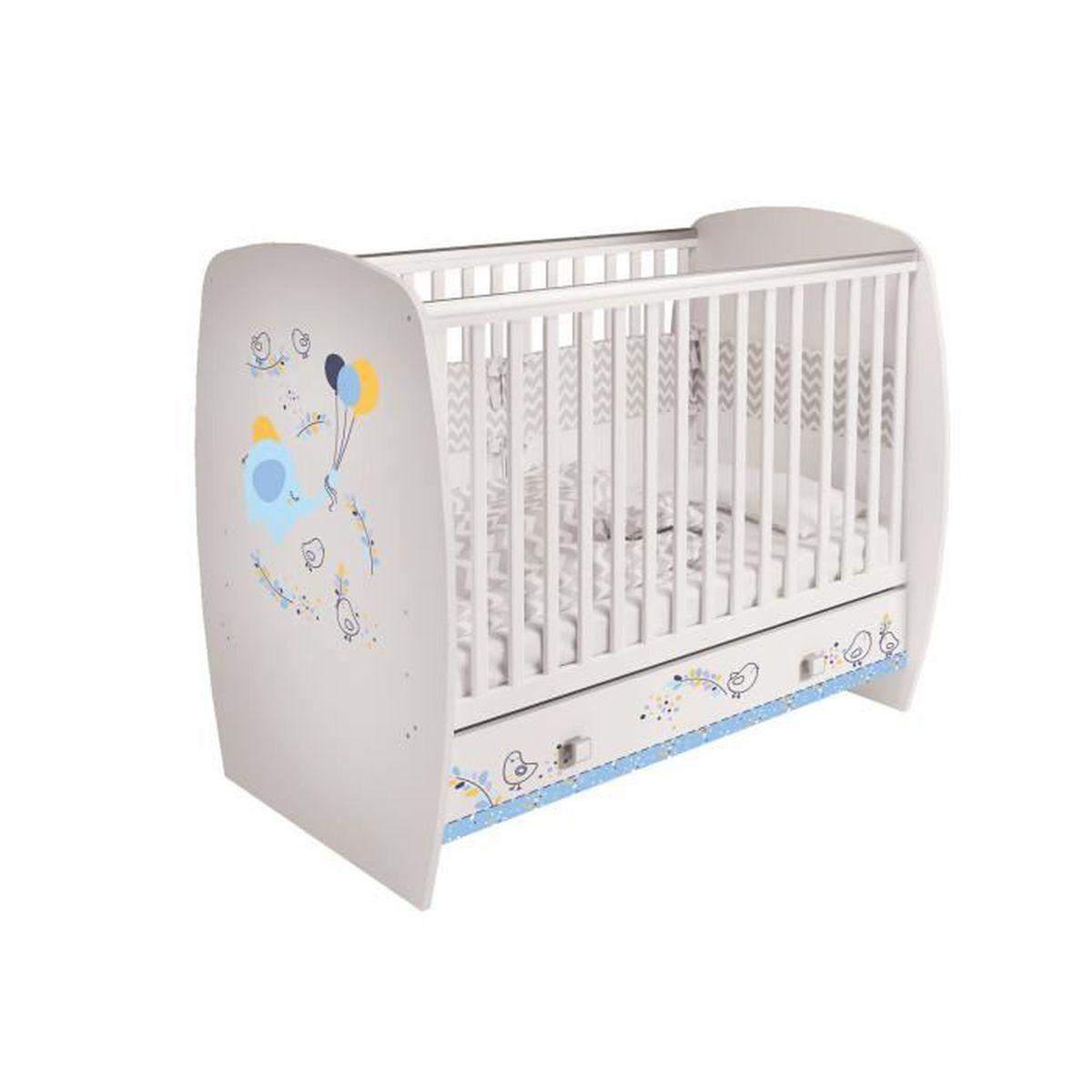 Lit Pour Enfant De Polini Kids Modele Simple 710 Motifs Differentes Achat Vente Lit Bebe 4620031187646 Cdiscount