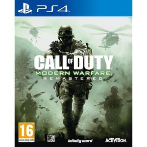 JEU PS4 Call of Duty Modern Warfare Remastered Jeu PS4