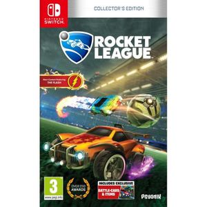 JEU NINTENDO SWITCH Rocket League Edition Collector Jeu Switch