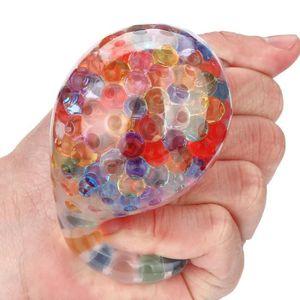 HAND SPINNER - ANTI-STRESS Jouet de balle arc-en-ciel spongieux stress compre