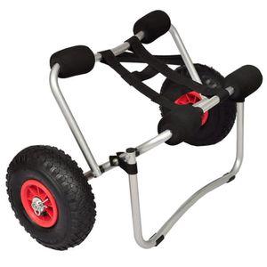 CHARIOT DE MARCHÉ Chariot pour kayak Aluminium-GXU