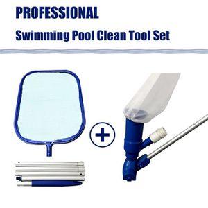 ECHELLE DE PISCINE  Kit de nettoyage de piscine Outils de nettoyage de