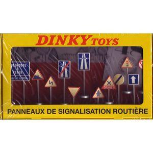 DINKY TOYS ATLAS 12 PANNEAUX DE SIGNALISATION ROUTIERE REF 593 1//43 IN BOX