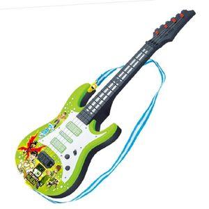 INSTRUMENT DE MUSIQUE Groupe de rock Guitare électrique 4 cordes Jouet é